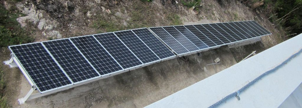 7KW Solar Array from above