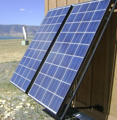 Wall Mount Solar Panels